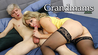 Nasty Granny Fucking out of Boredom