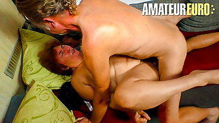 XXX BBW Granny Blows And Fucks Hard With Husband On Cam