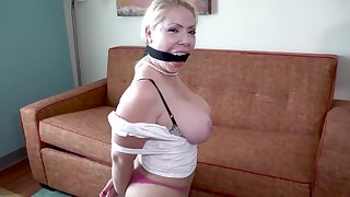 I'M Yours - Blonde wife gagged in bondage