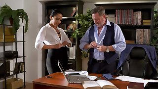 Brad Armstrong gives Vicki Chase money after pussy-nailing