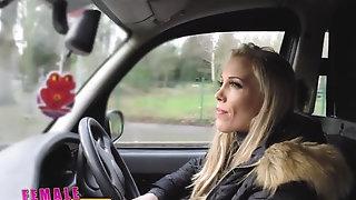 FemaleFakeTaxi Runaway passenger limited by inconsiderate cougar sextube