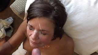 Tit fucking plus thick money-shot to the circumstance with 50 savoir faire ancient mature freesex