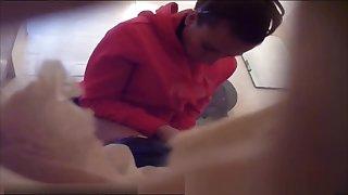 Italian Toilet hidden cam