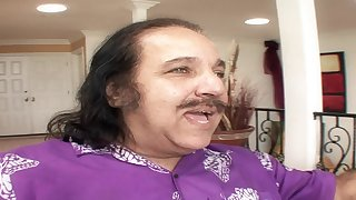 Steamy Step Dad Ron Jeremy Nailing His S - ron jeremy