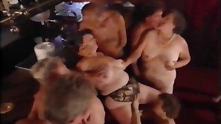 Older swingers group sex
