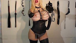 Sabrina Sabrok bondage lesson