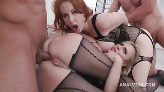 brittany bardot and isabella lui butt fuck fisting